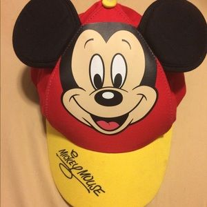 Disney parks Mickey Mouse cap youths size